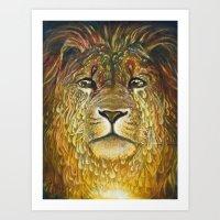 Judah's Tears Art Print