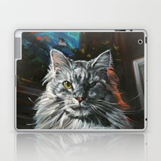 Two Faces of the Main Coon Cat Laptop & iPad Skin