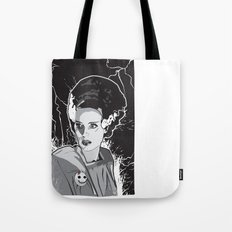 Bride of Frankenstein Tote Bag