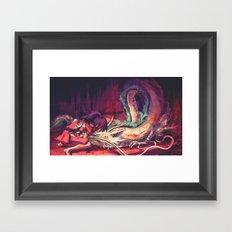 Bleed Framed Art Print