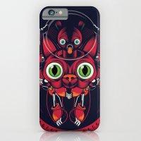 iPhone & iPod Case featuring robo cat by Dane Flighty