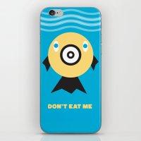 Don't Eat Me Vegan Fishi… iPhone & iPod Skin