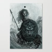 Shield Canvas Print