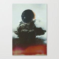 Final Eclipse Canvas Print