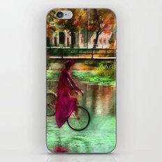 Cykel tur iPhone & iPod Skin
