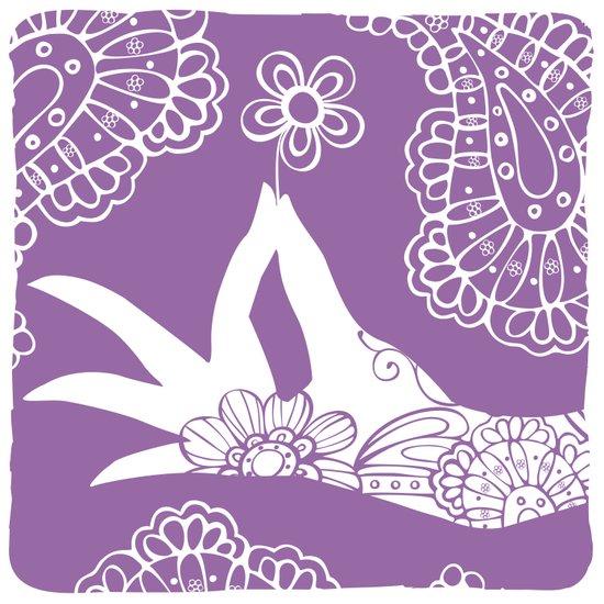 Lavender Mudra Art Print