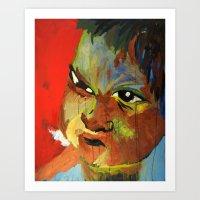 Autistic Boy Art Print