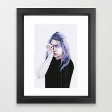 I could but I can't Framed Art Print