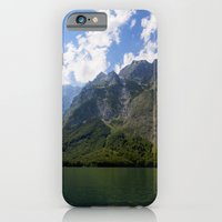 iPhone Cases featuring Bavaria - Alpes- Koenigssee Lake by UtArt
