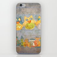 Owls iPhone & iPod Skin
