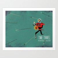 The Time Travelling Pira… Art Print