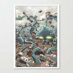 Revenge of the Kracken Canvas Print