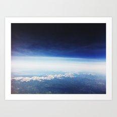 horizon . ii Art Print