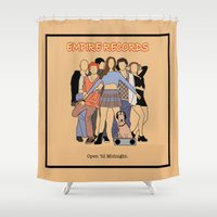 Empire Records Vintage M… Shower Curtain