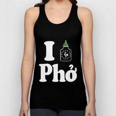 I Heart Pho Unisex Tank Top