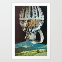 the great leap forward Art Print