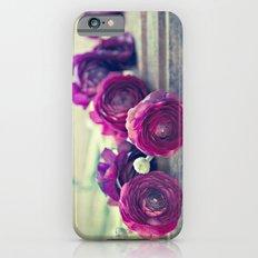 Like Royalty (Purple Ranunculus)  Slim Case iPhone 6s