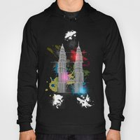 Petronas Towers Abstract Hoody