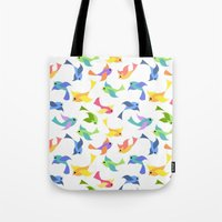 Ditsy birds Tote Bag