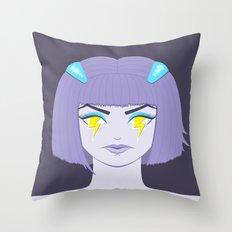 SilentRage Throw Pillow