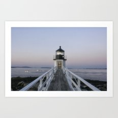 Marshall Point Lighthous… Art Print