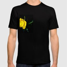 Embrace Our Friendship Black SMALL Mens Fitted Tee