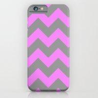 Chevron Pink iPhone 6 Slim Case