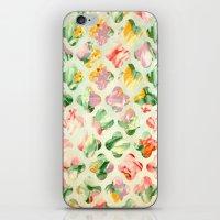 Clover Round iPhone & iPod Skin