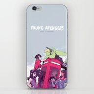 iPhone & iPod Skin featuring Style > Substance by Blue