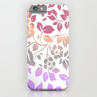 iPhone & iPod Case featuring floral by ponymonster
