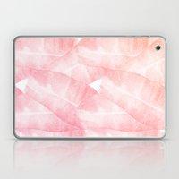 Banana Leaves Pink Laptop & iPad Skin