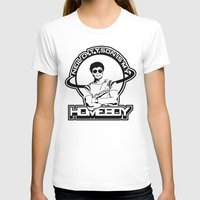 Neil Degrasse Tyson is my Homeboy Womens Fitted Tee White SMALL