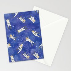 Space Astronauts Stationery Cards