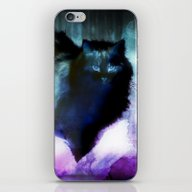 The Spooky Cat iPhone & iPod Skin