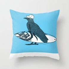 Birdwatch Throw Pillow
