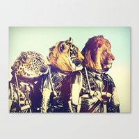 The Mission Comes First Canvas Print