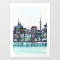 floating city Art Print
