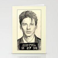 Frank Sinatra - Mugshot 1938 Stationery Cards