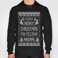 Merry Christmas Ya Filth… Hoody