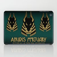 Anubis Mortuary iPad Case