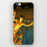 RockCenter Ambient Blue iPhone & iPod Skin