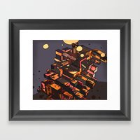 Locals Only - The Bronx,… Framed Art Print