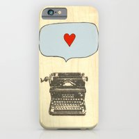 iPhone & iPod Case featuring Love Letters by Pips Ebersole