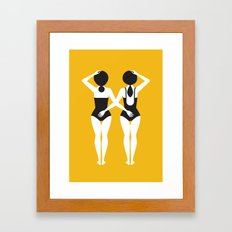 The Swimmers Framed Art Print