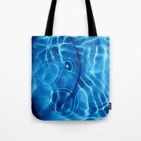 Water / H2O#14 (Water Abstract) Tote Bag