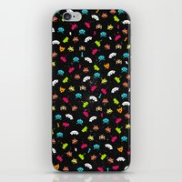 Space Invaders iPhone & iPod Skin