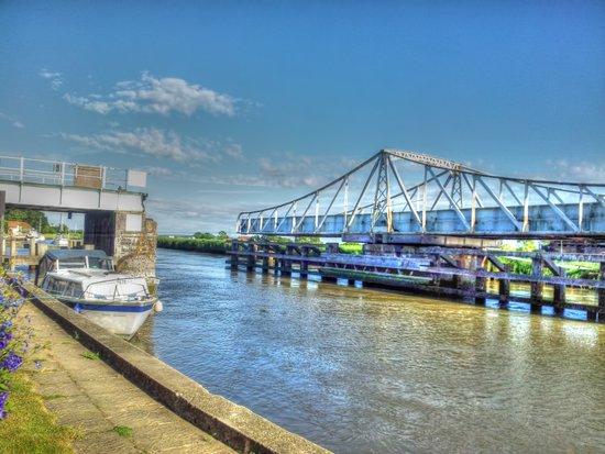 Reedham Swing Bridge Art Print