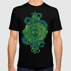Green is the Color of Death Mens Fitted Tee Black SMALL