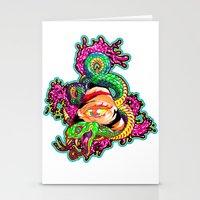 SnakeEyes Stationery Cards