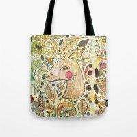 Deer Spirit Tote Bag